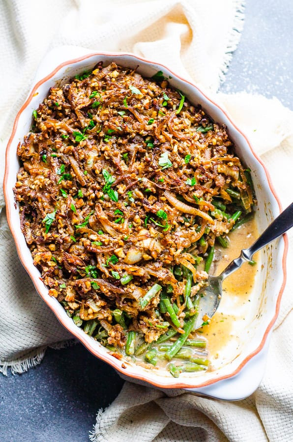 Healthy Green Bean Recipes  Healthy Green Bean Casserole iFOODreal Healthy Family