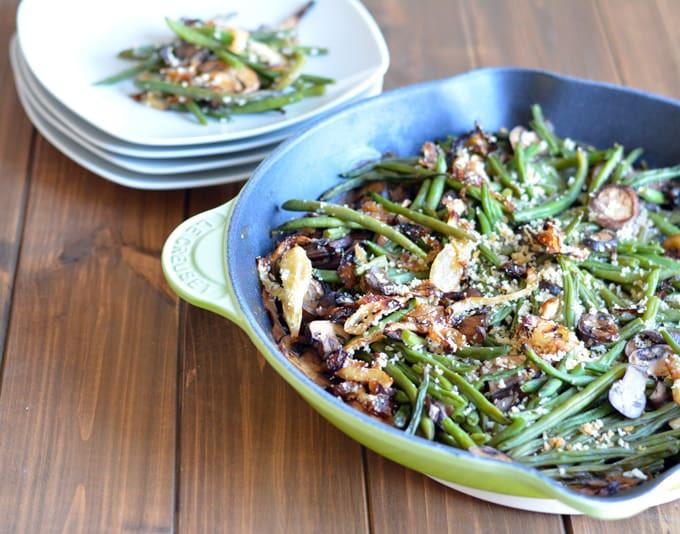 Healthy Green Bean Recipes  healthy green bean casserole
