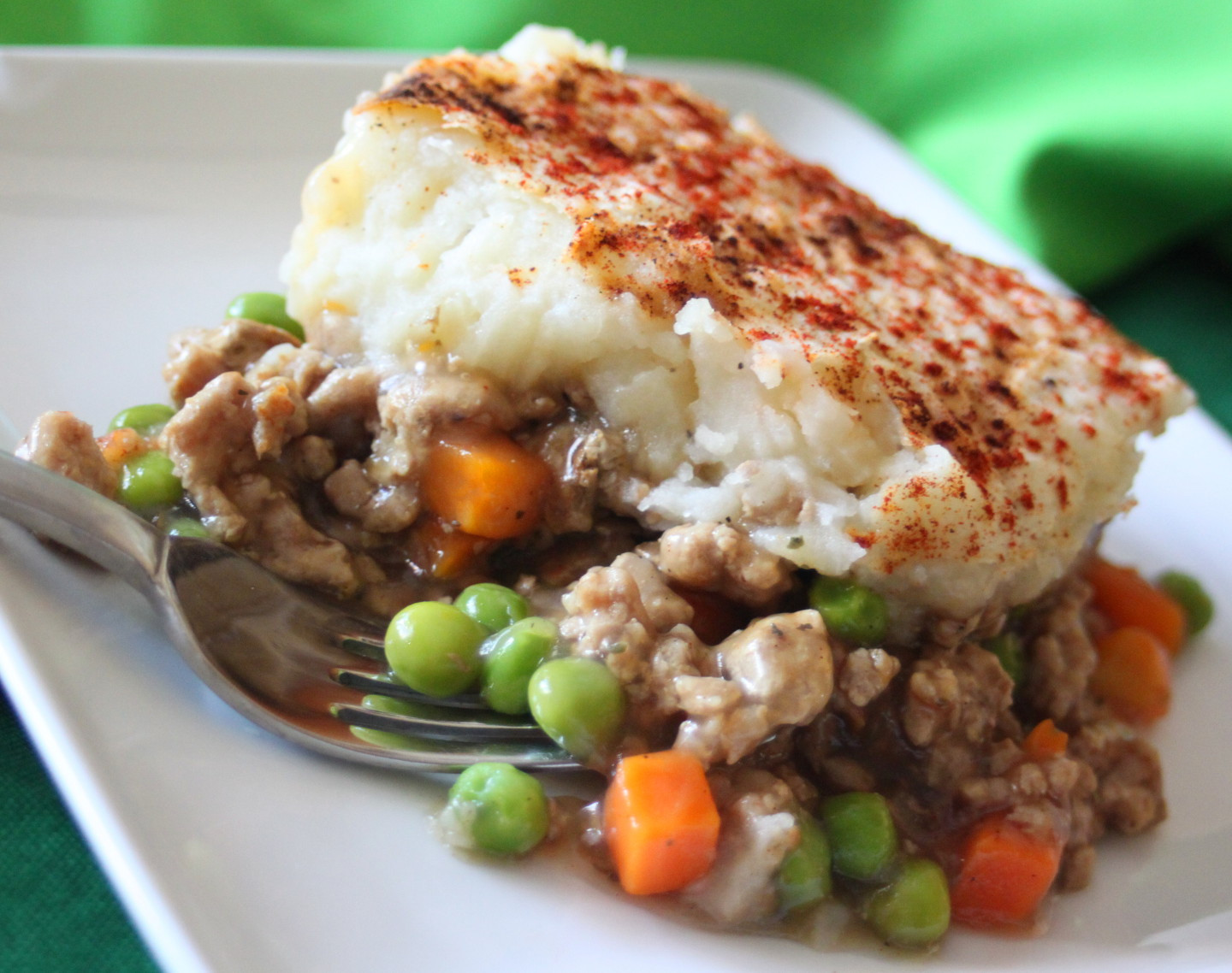 Healthy Ground Turkey Recipe  Healthy Busy Mom Easy Ground Turkey Shepherd s Pie