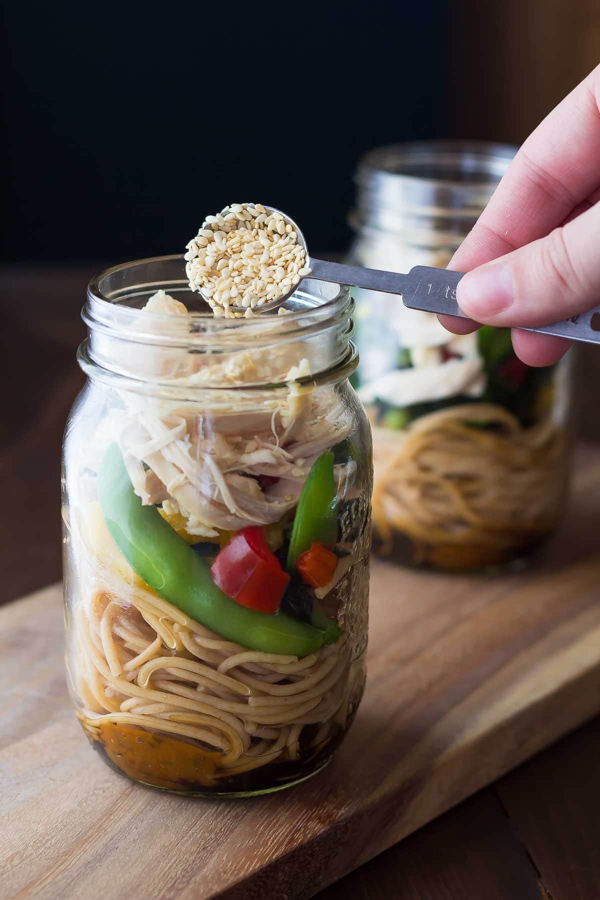 Healthy Instant Noodles  Healthy Homemade Instant Noodles Sesame Ginger