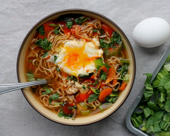 Healthy Instant Noodles  Meatless Monday Healthier Instant Noodles Meatless Monday