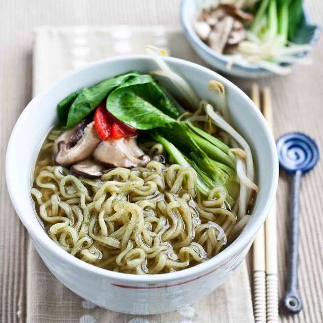 Healthy Instant Noodles  FOODjimoto GreeNoodle Healthier Instant Ramen