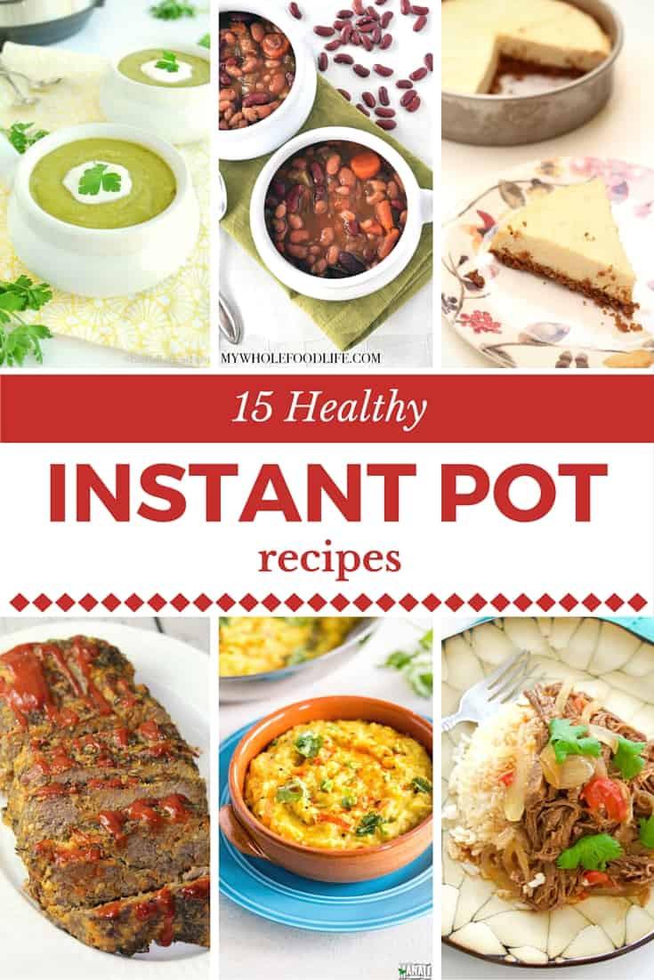 Healthy Instant Pot Dinner Recipes  Best Healthy Pressure Cooker Recipes Instant Pot