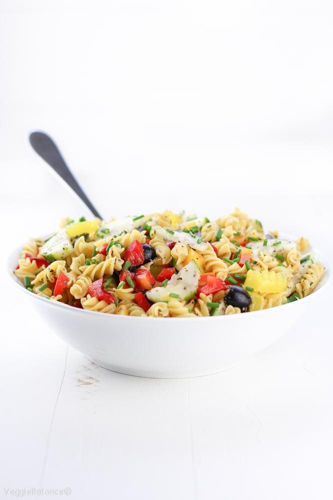 Healthy Italian Recipes  Healthy Italian Pasta Salad Homemade Italian Dressing