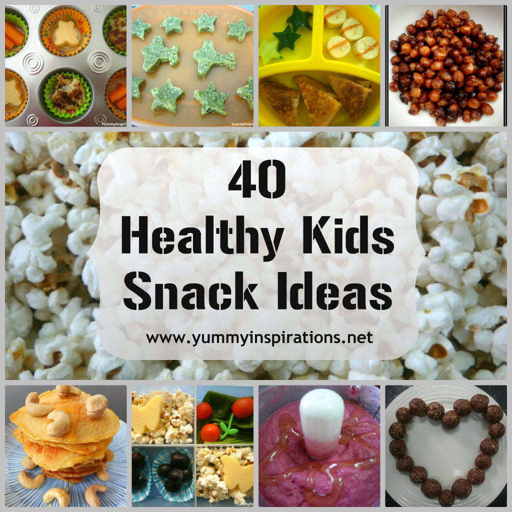 Healthy Kids Snacks  40 Healthy Kids Snack Ideas Yummy Inspirations