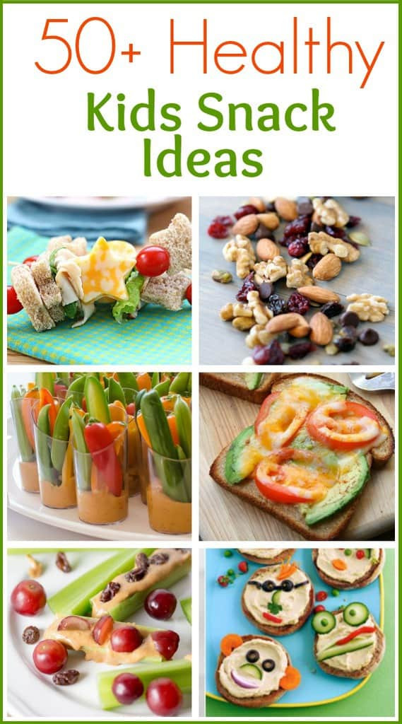 Healthy Kids Snacks  Egg and Avocado Toast