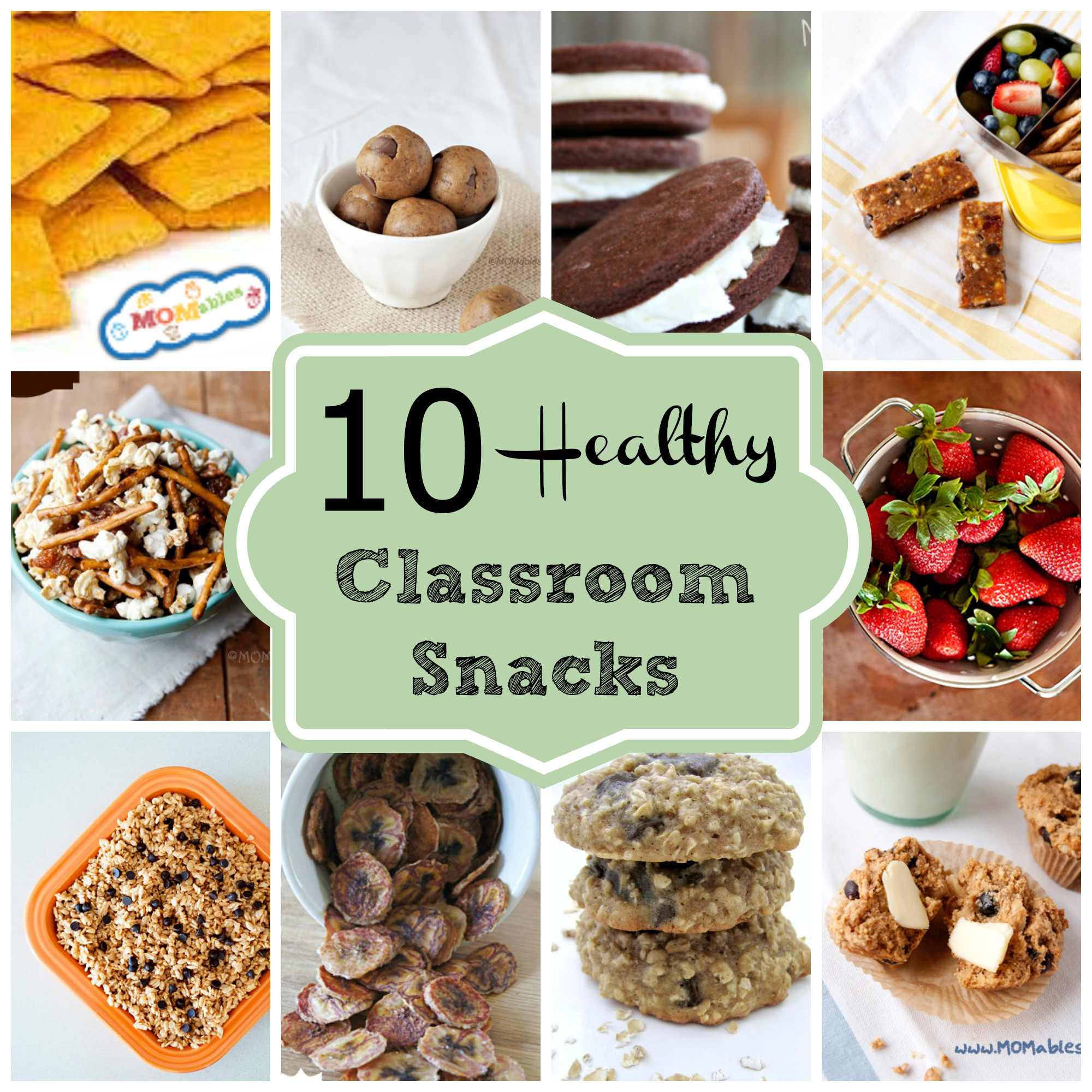 Healthy Kids Snacks  10 Healthy Classroom Snacks