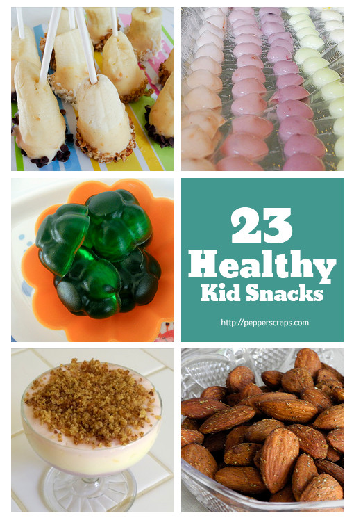 Healthy Kids Snacks  23 Healthy Kid Snacks – Pepper Scraps