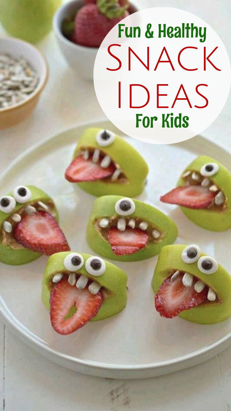 Healthy Kids Snacks  19 Healthy Snack Ideas Kids WILL Eat Healthy Snacks for
