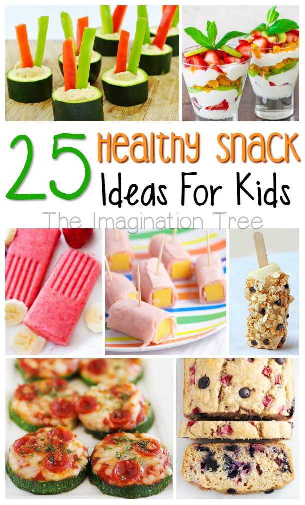Healthy Kids Snacks  Healthy Snacks for Kids The Imagination Tree