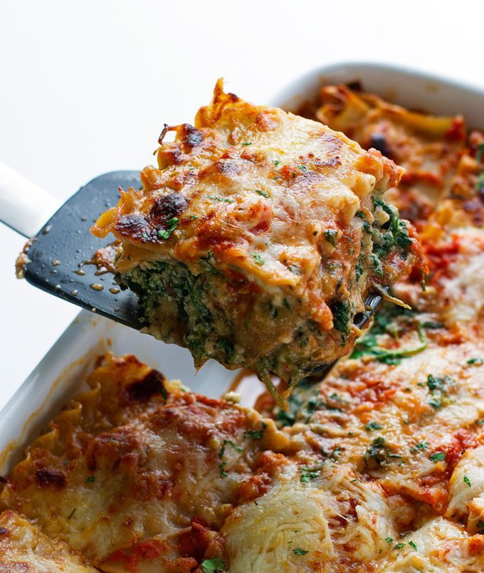 Healthy Lasagna Recipe  100 Healthy Lasagna Recipes on Pinterest