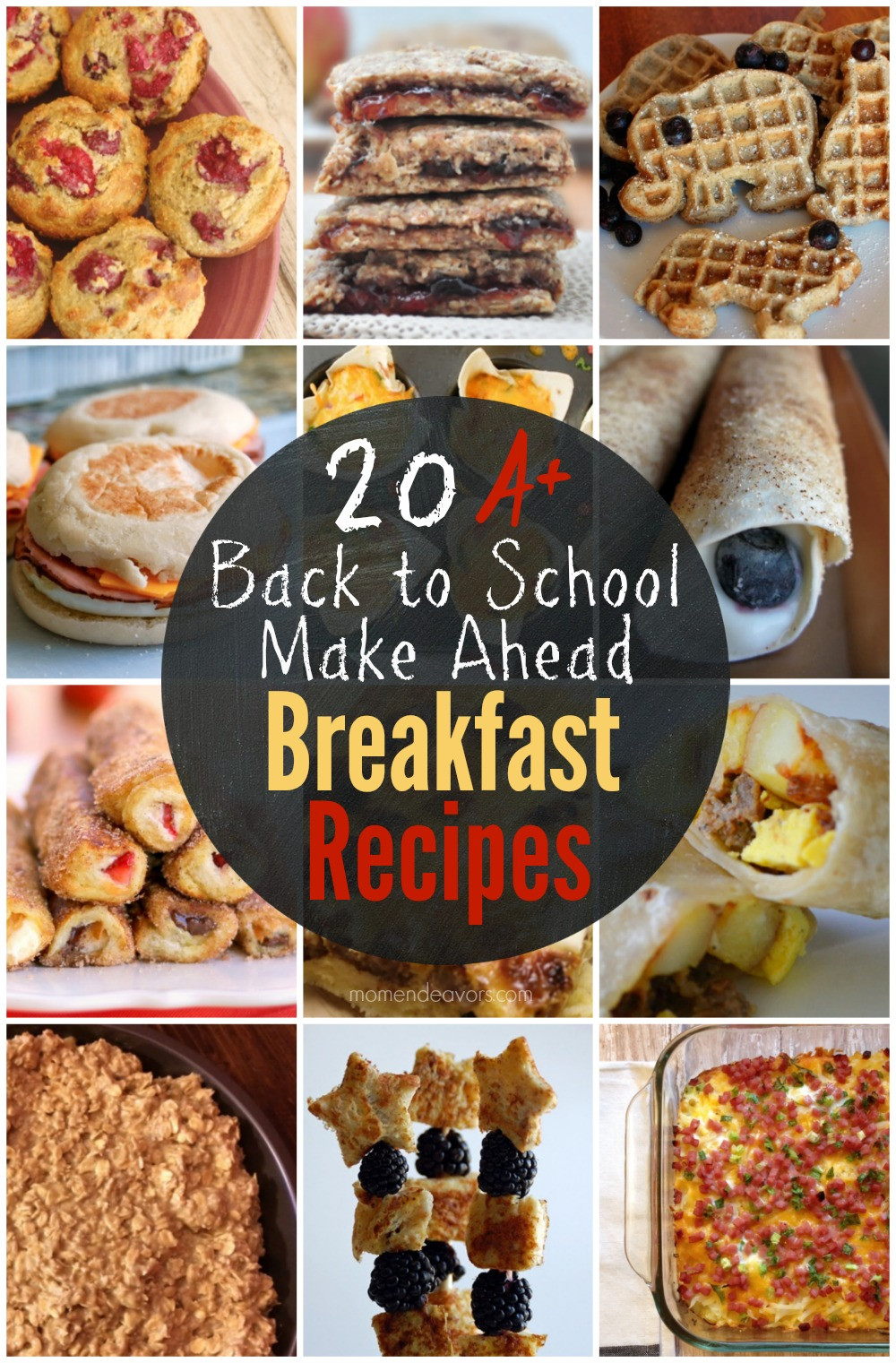 Healthy Make Ahead Breakfast Recipes  A Month of Healthy Snack Ideas – Easy & Creative Ideas