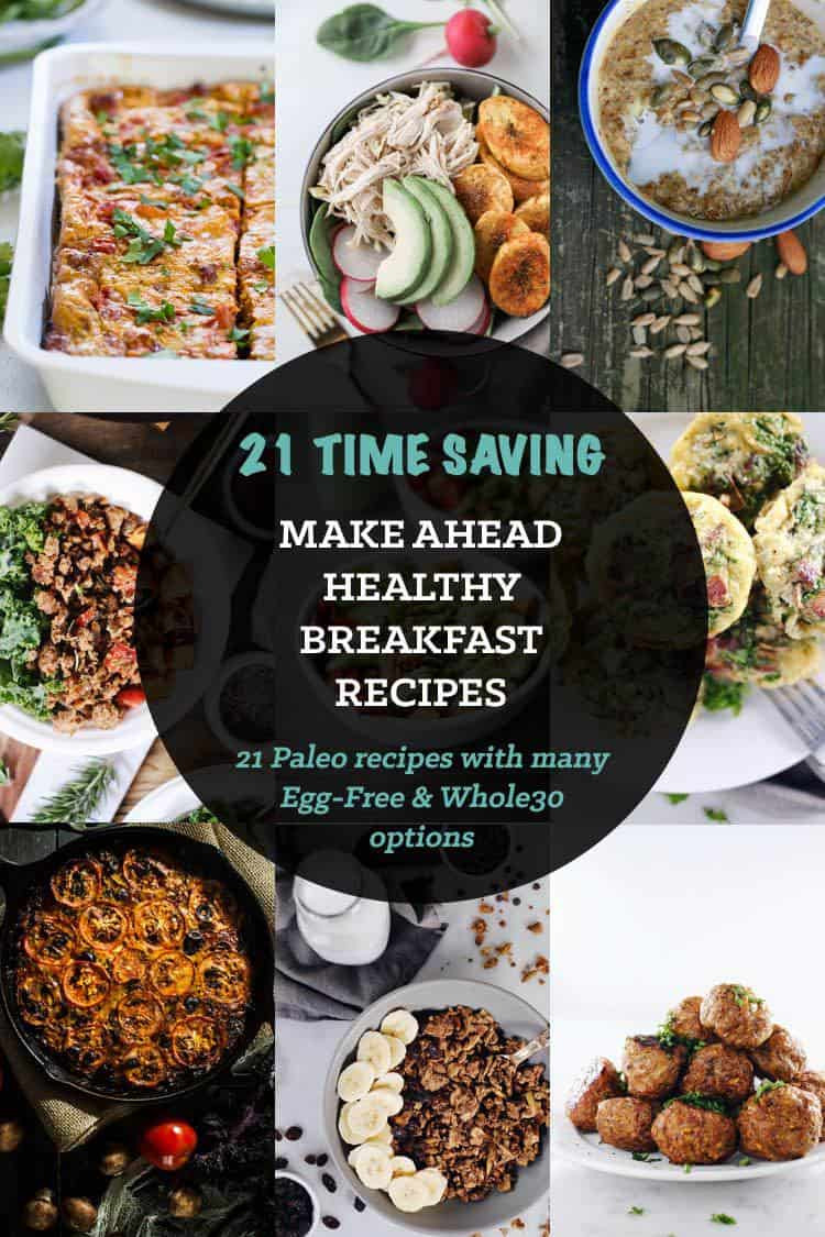 Healthy Make Ahead Breakfast Recipes  21 Healthy Make Ahead Breakfast Recipes