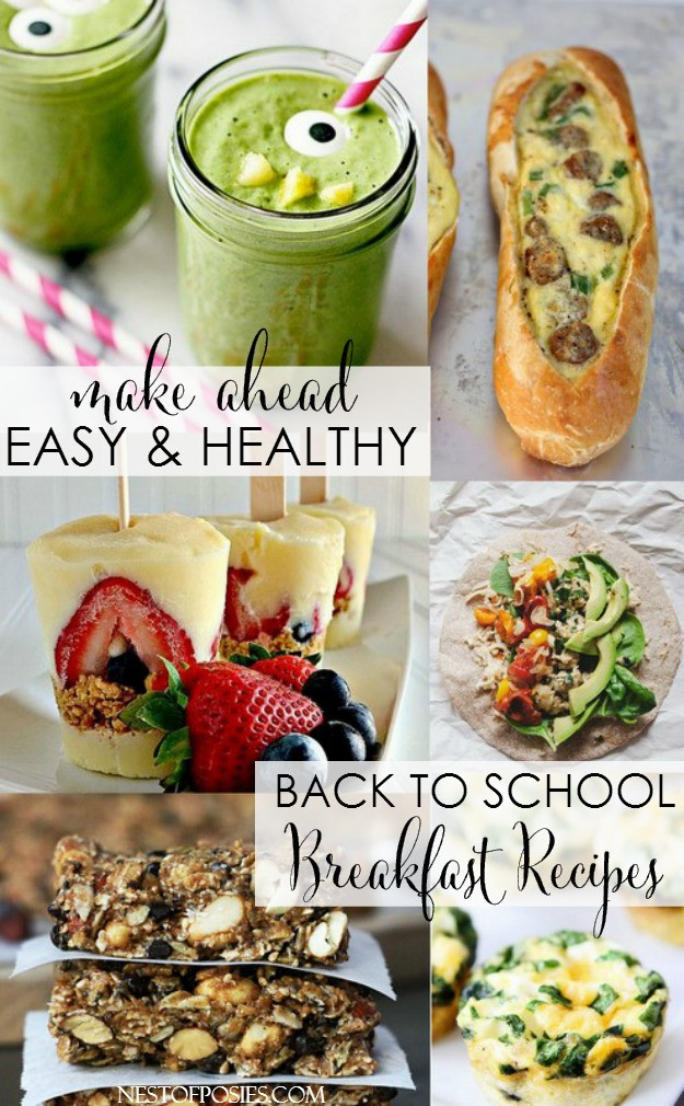 Healthy Make Ahead Breakfast Recipes  Back to School Breakfast Recipes and Ideas