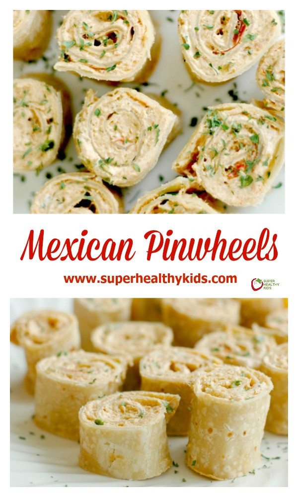 Healthy Mexican Appetizers  Mexican Pinwheels Perfect for Quick Lunches Fun
