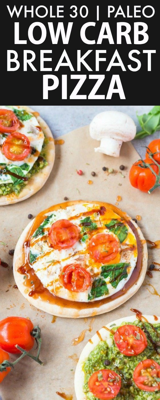 Healthy No Carb Breakfast  Healthy Low Carb Breakfast Pizza Paleo Gluten Free