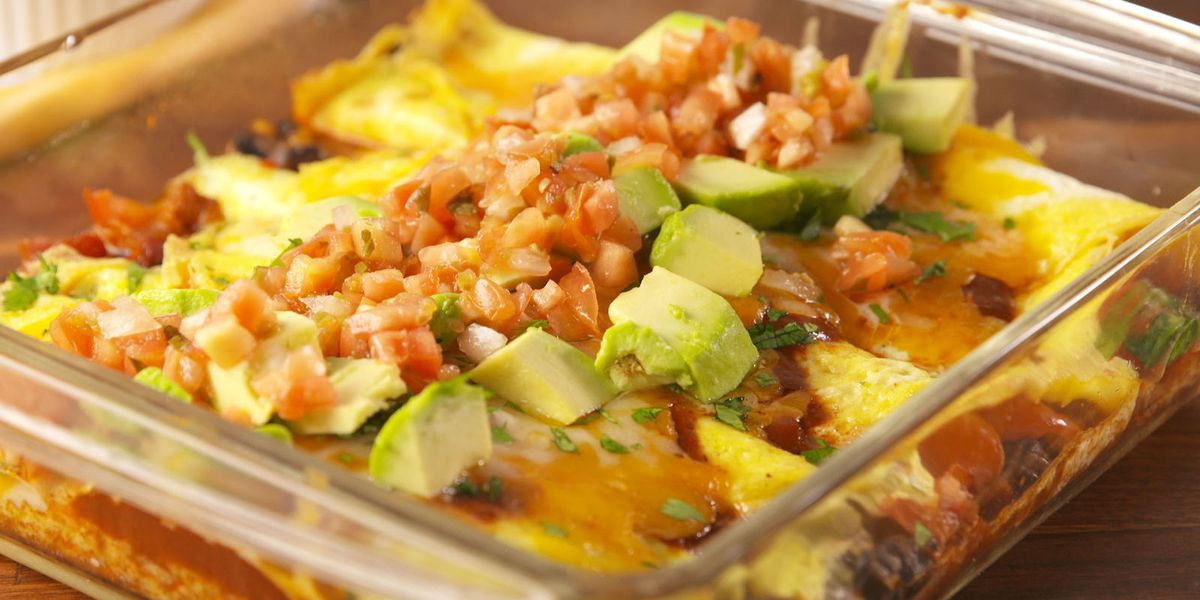 Healthy No Carb Breakfast  Best Low Carb Breakfast Enchilada Recipe How to Make Low
