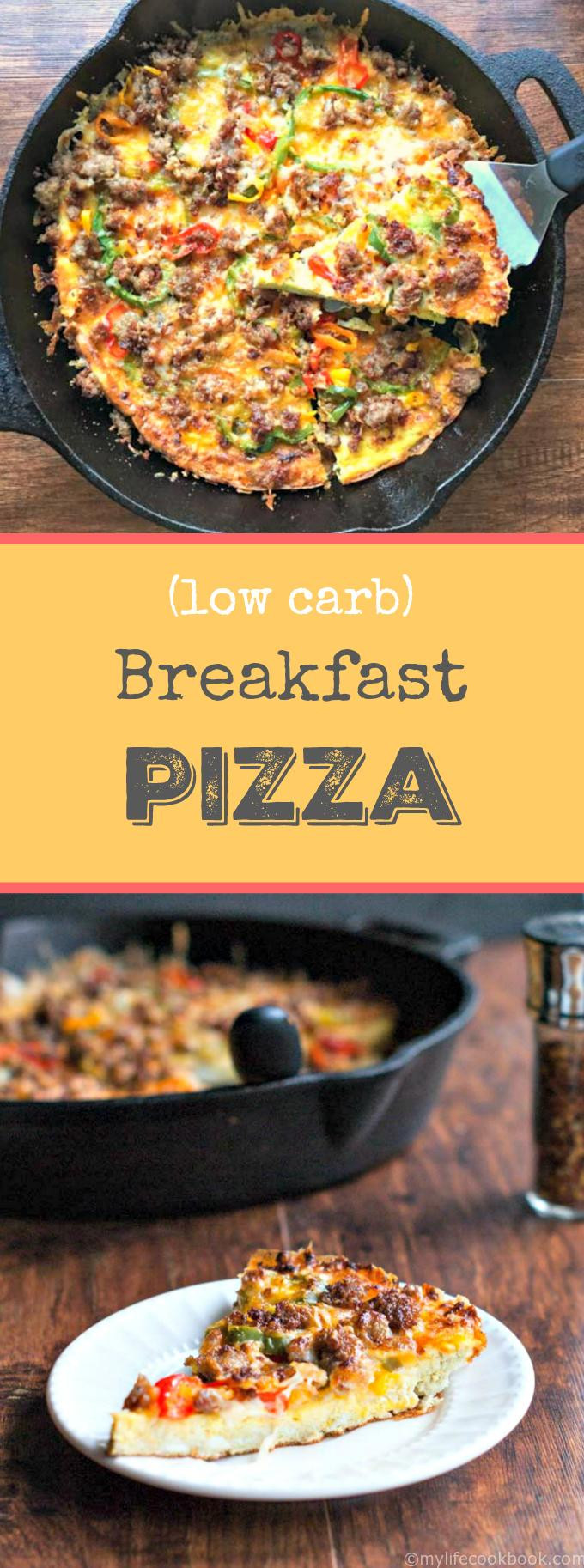 Healthy No Carb Breakfast  Low Carb Breakfast Pizza