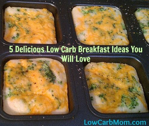 Healthy No Carb Breakfast  Low Carb Breakfast Ideas