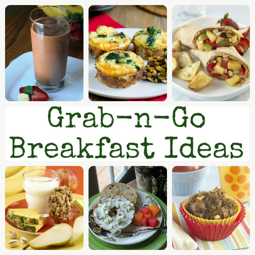 Healthy On The Go Breakfast  Grab n Go Breakfasts for Busy Mornings