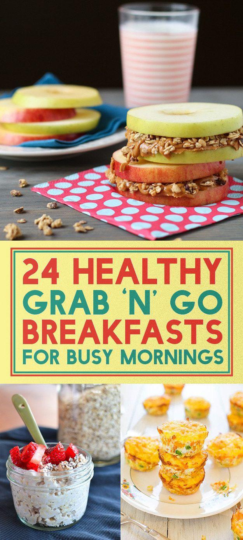 Healthy On The Go Breakfast  24 Healthy The Go Breakfast Ideas ting