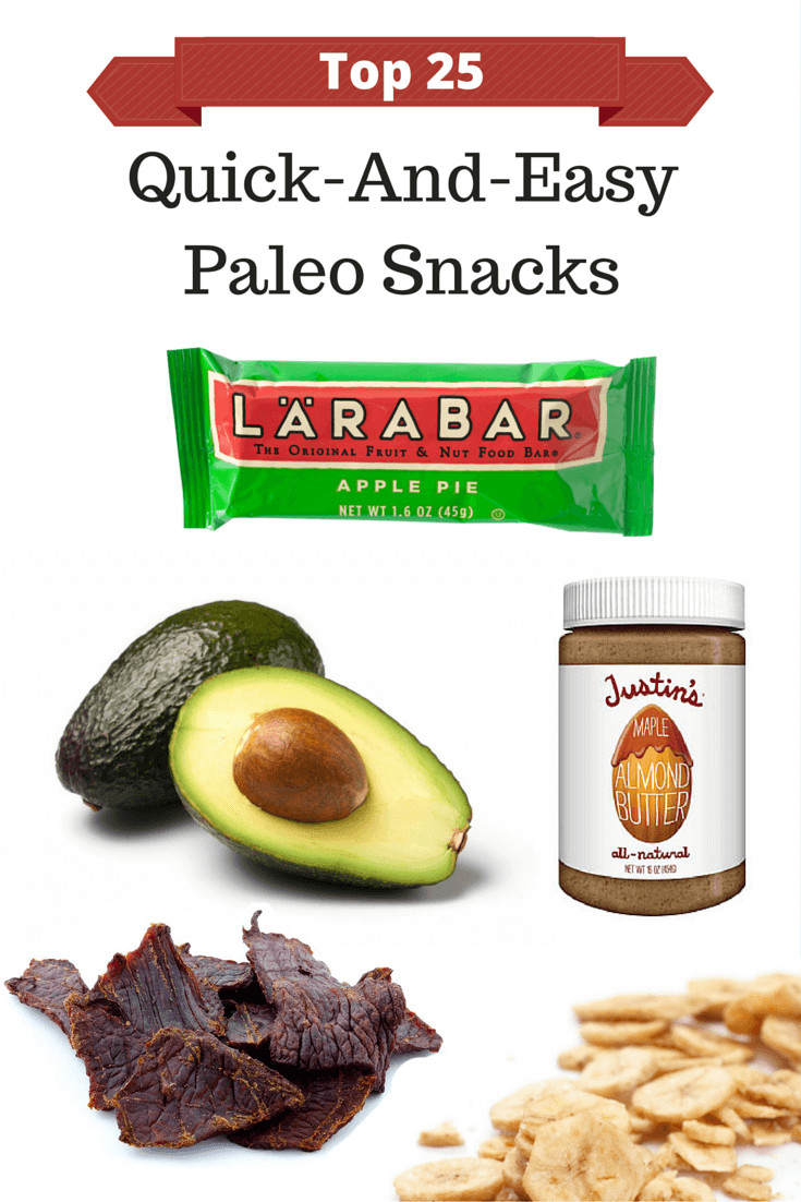 Healthy Paleo Snacks  Paleo Chops