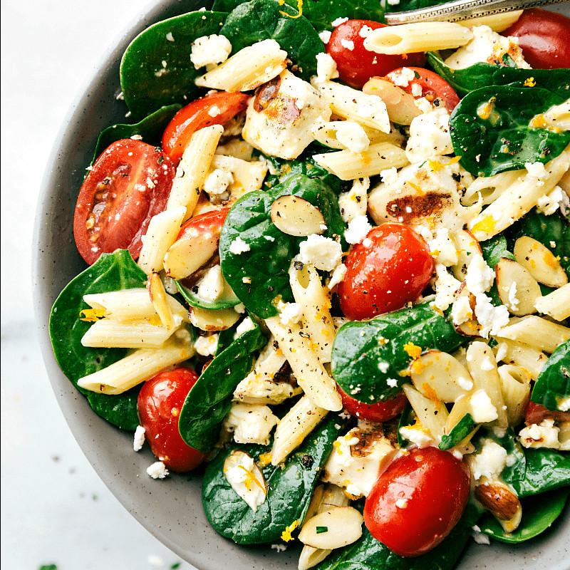 Healthy Pasta Salad  Healthy Chicken Pasta Salad