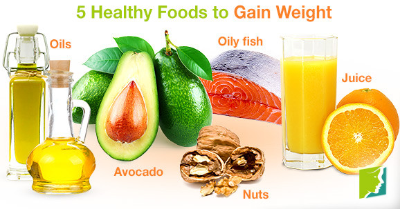 Healthy Snacks For Weight Gain  5 Healthy Foods to Gain Weight