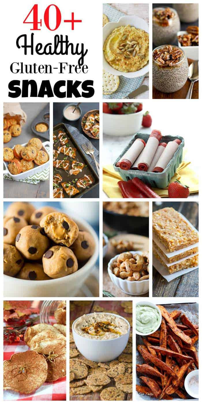 Healthy Snacks Recipes  40 Healthy Gluten Free Snack Recipes Cupcakes & Kale Chips