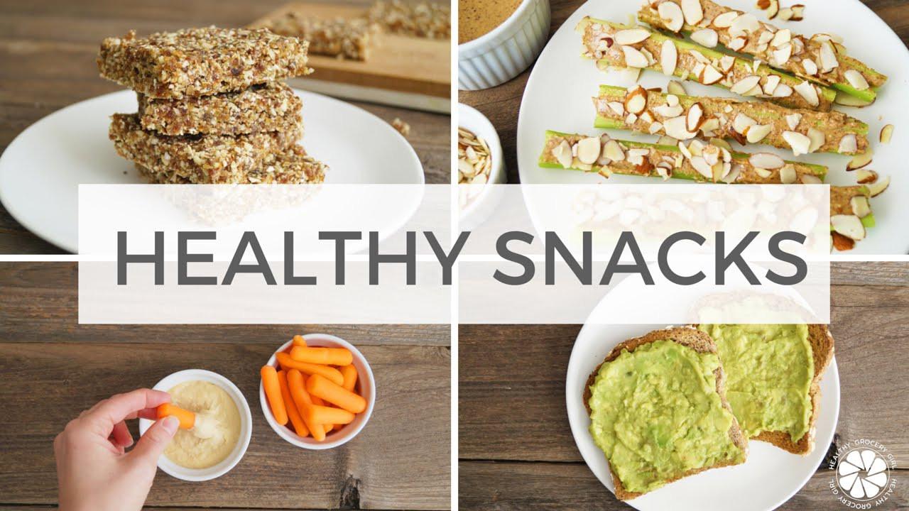 Healthy Vegan Snacks  4 Healthy Snack Ideas