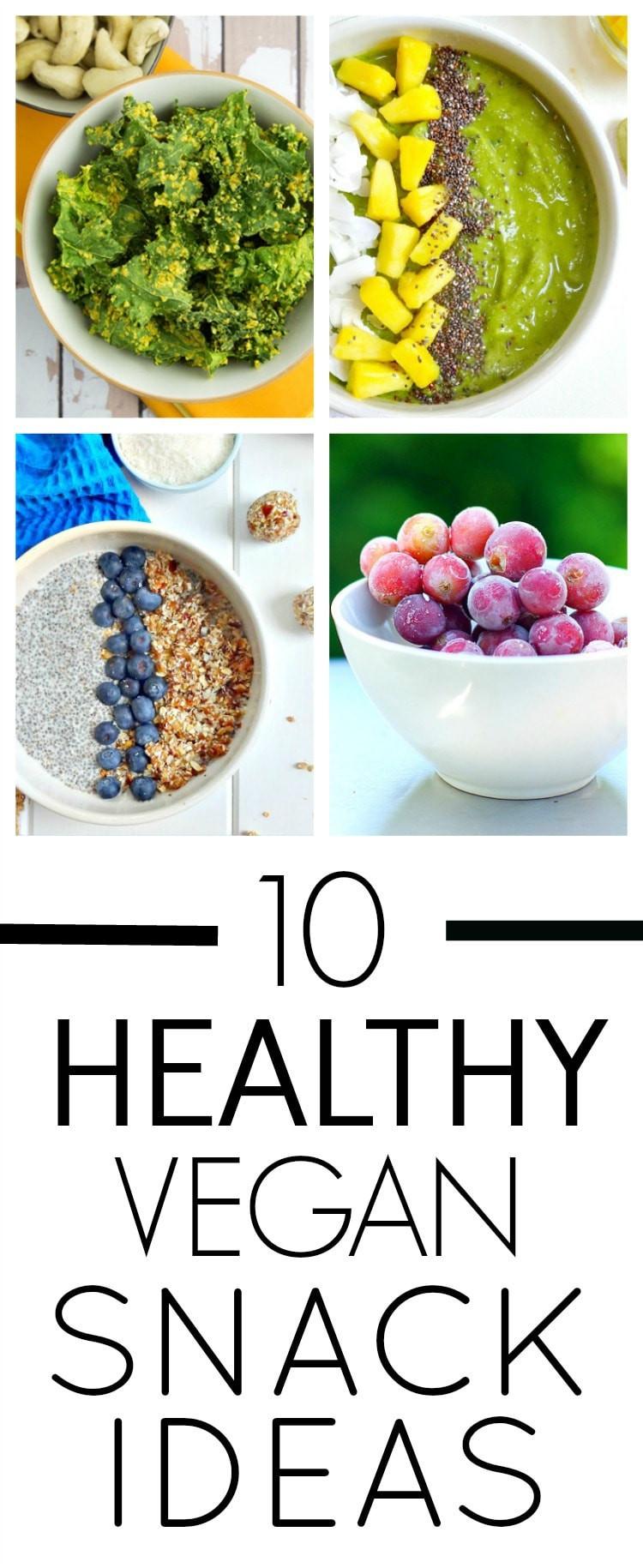 Healthy Vegan Snacks  10 Healthy Vegan Snack Ideas The Glowing Fridge