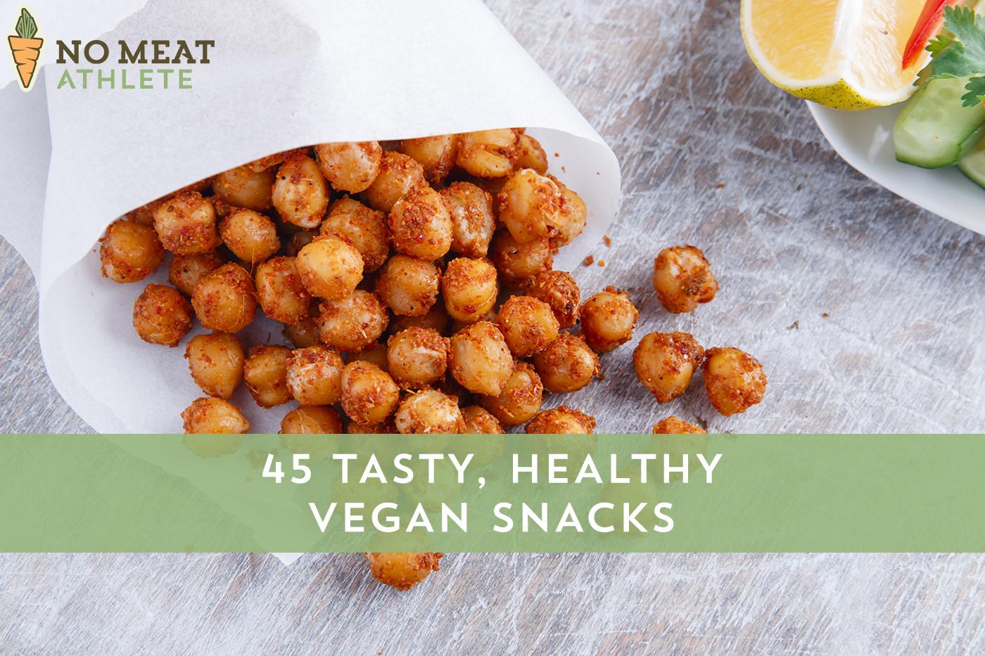 Healthy Vegan Snacks  Vegan Snacks that are Healthy & Tasty