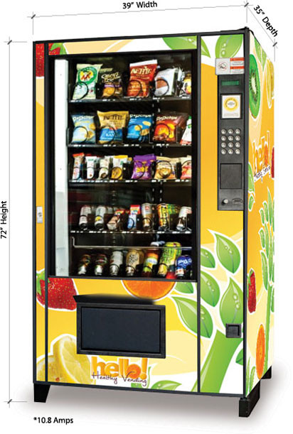 Healthy Vending Machine Snacks  Our Machines