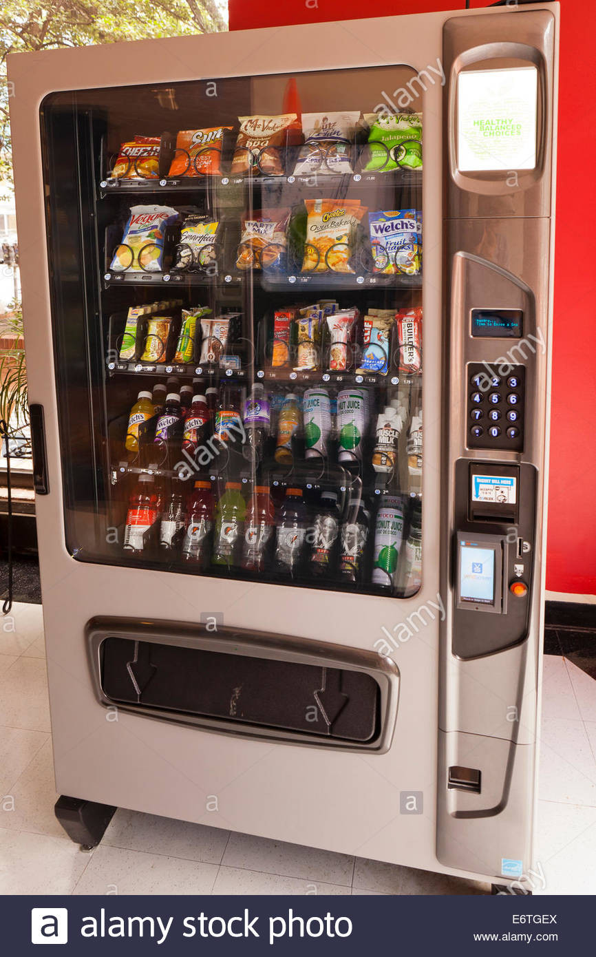 Healthy Vending Machine Snacks  Healthy snacks and juices in gym vending machine USA
