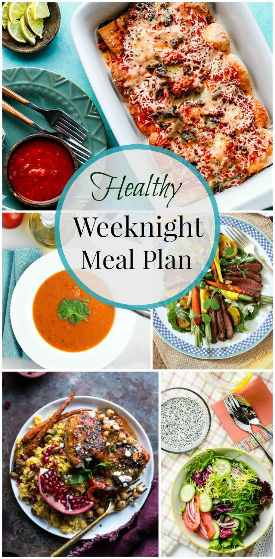 Healthy Weeknight Dinners  Healthy Weeknight Meal Plan 16