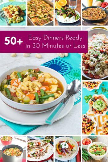 Healthy Weeknight Dinners  1336 best Easy Weeknight Dinners images on Pinterest