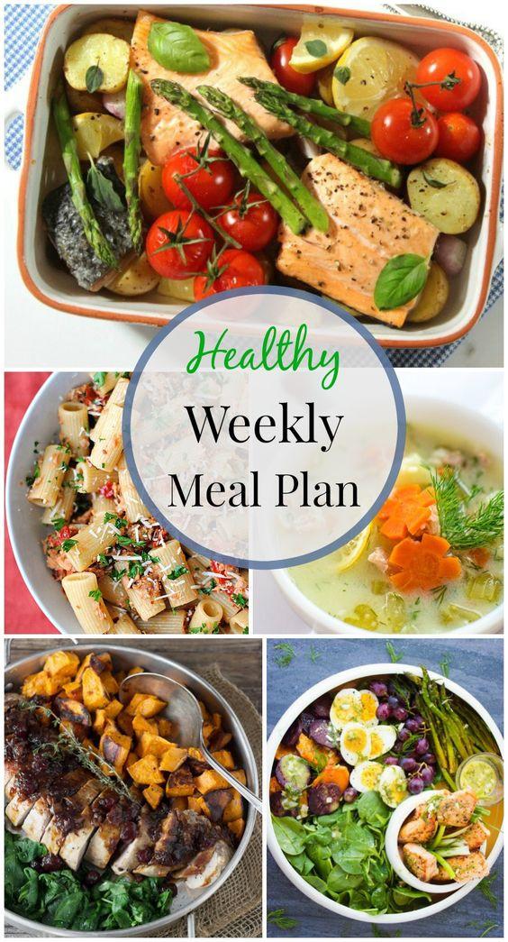 Healthy Weeknight Dinners  Healthy weeknight meals Weeknight meals and Meals on