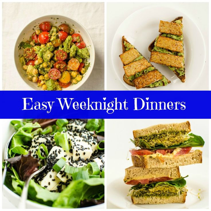 Healthy Weeknight Dinners  17 Best images about Meal Planning on Pinterest