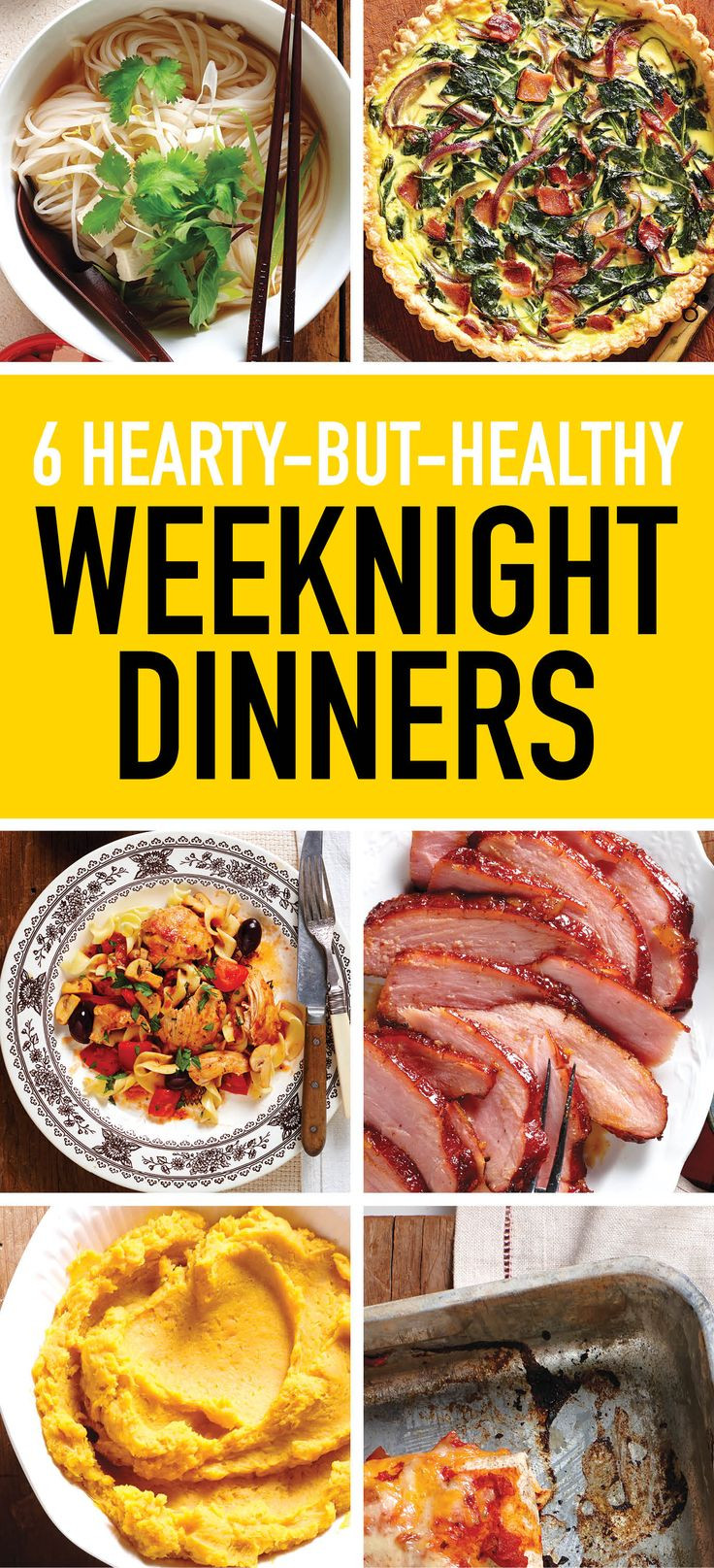 Healthy Weeknight Dinners  7 hearty but healthy recipes for weeknight dinners