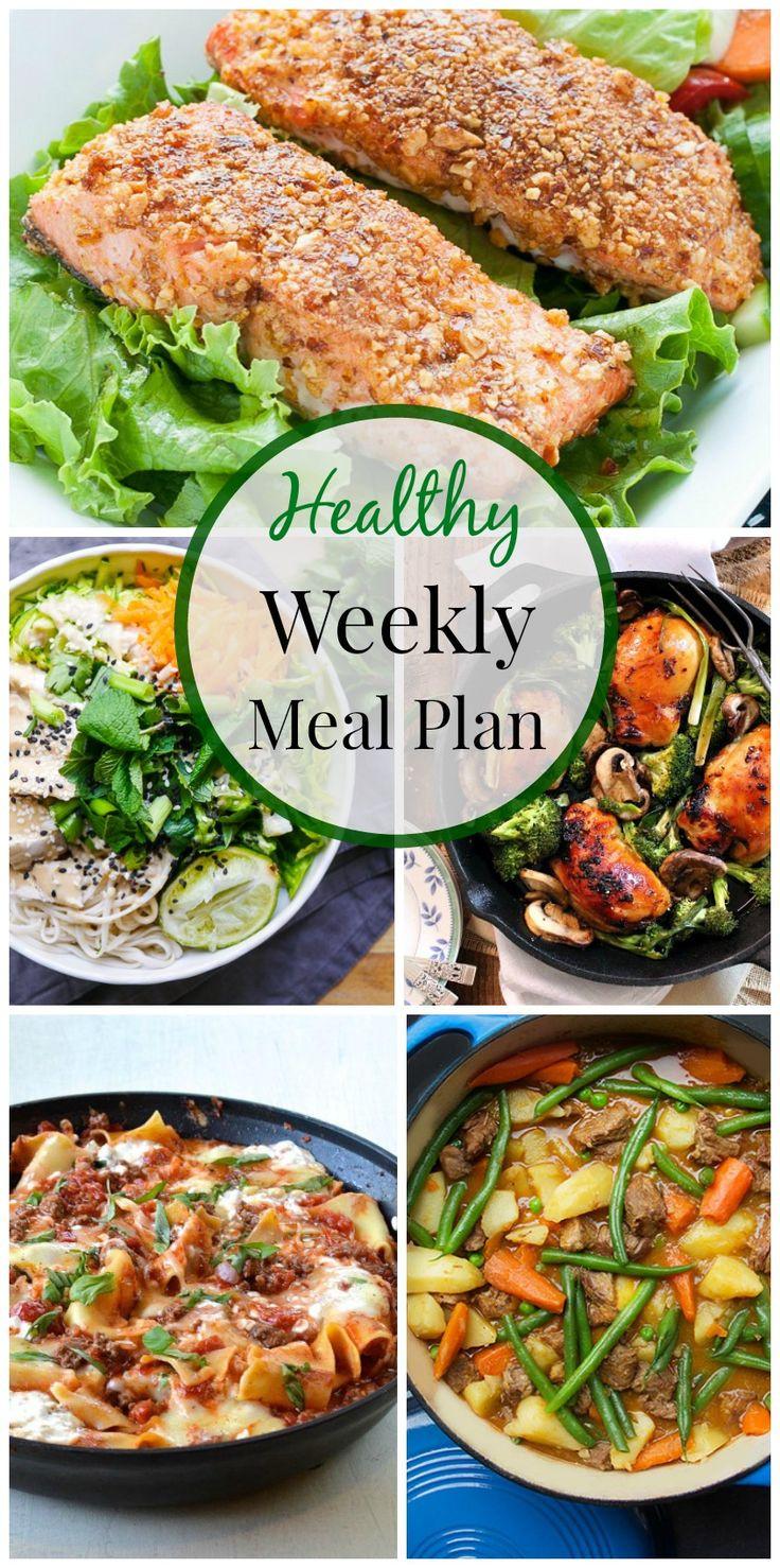 Healthy Weeknight Dinners  Healthy Weeknight Meal Plan 10