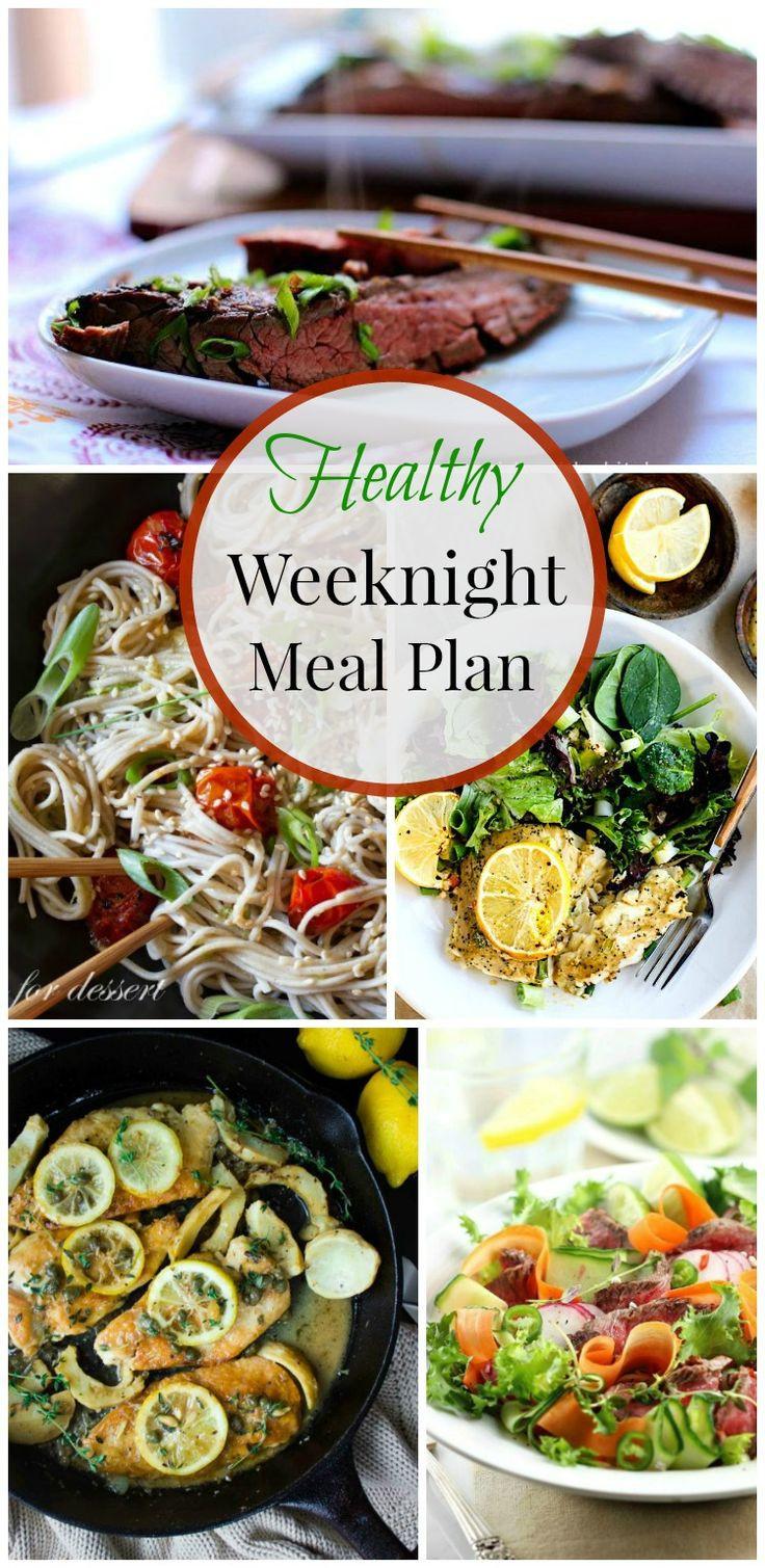 Healthy Weeknight Dinners  Healthy Weeknight Meal Plan 19