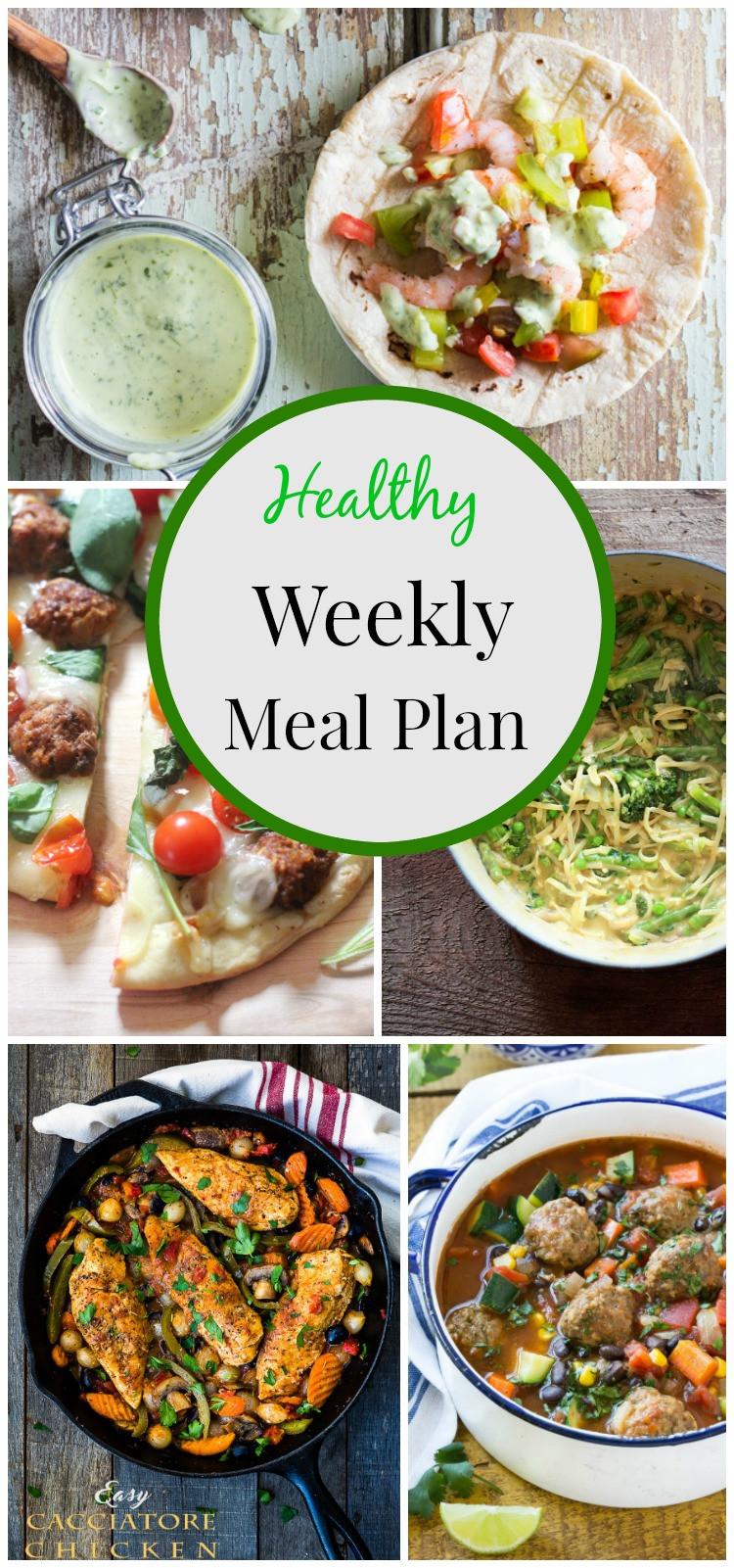 Healthy Weeknight Dinners  Healthy Weeknight Meal Plan 13 simply fresh dinners