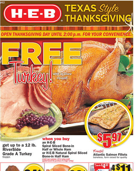 Heb Thanksgiving Dinner  HEB Weekly Deals 11 16 MyLitter e Deal At A Time