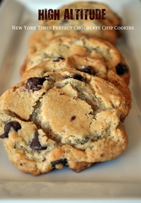 High Altitude Chocolate Chip Cookies  high altitude chocolate chip cookie recipe Archives