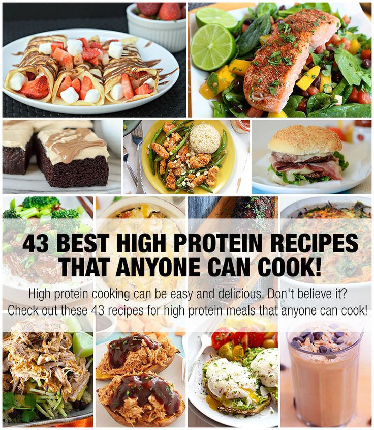 High Protein Dinner Recipes  High protein cooking can be easy and delicious Don t