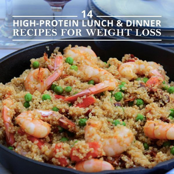 High Protein Dinner Recipes  14 High Protein Lunch and Dinner Recipes for Weight Loss
