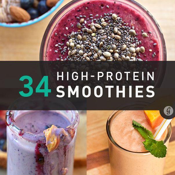 High Protein Smoothies  34 Surprisingly Delicious High Protein Smoothie Recipes