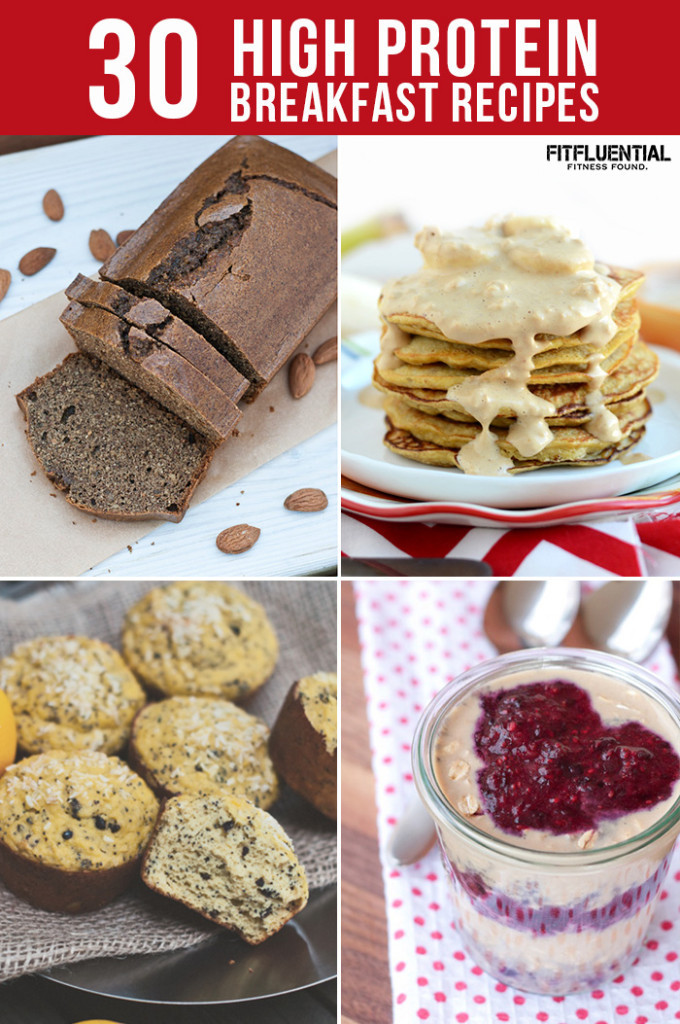 High Protein Snacks Recipes  30 High Protein Breakfast Recipes FitFluential