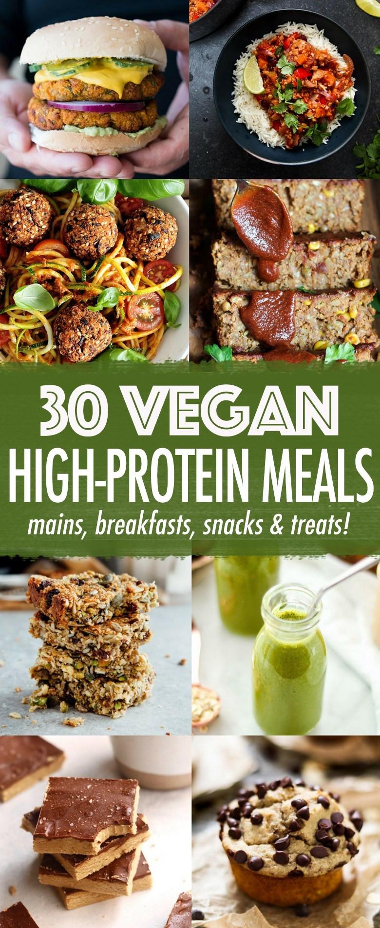 High Protein Snacks Recipes  30 High protein Vegan Meals Wallflower Kitchen