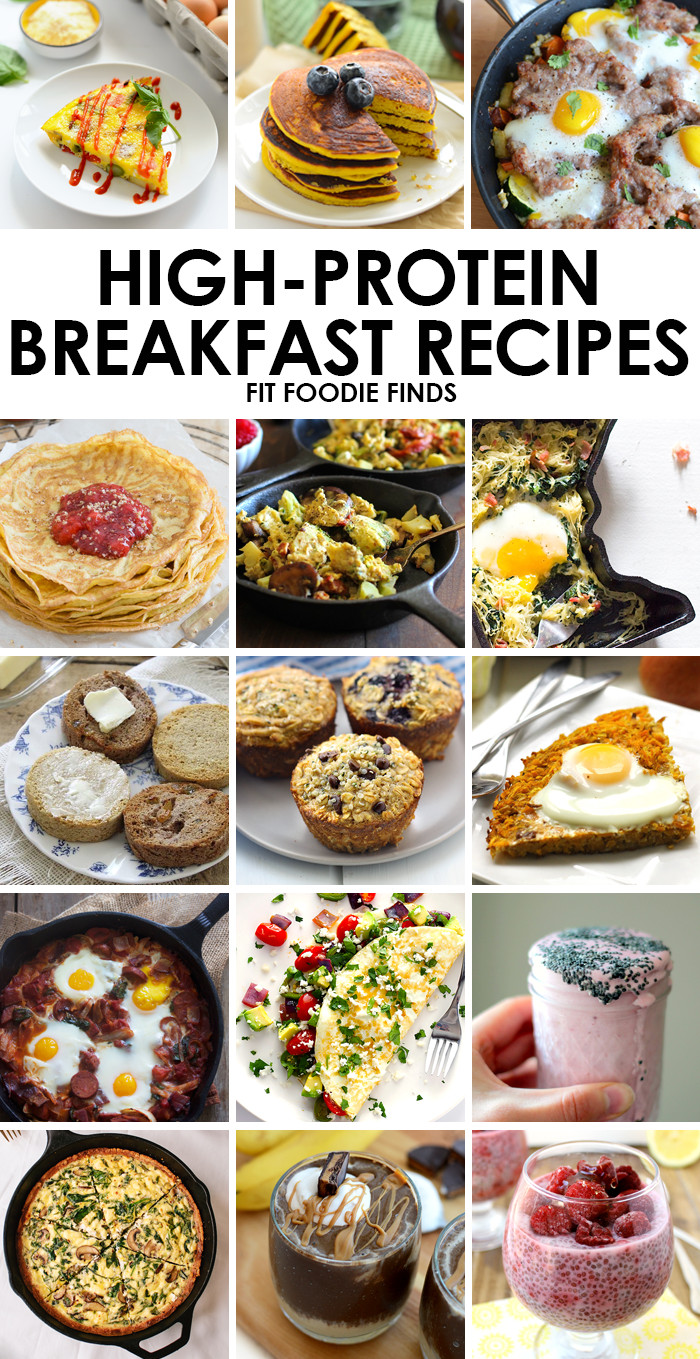 High Protein Snacks Recipes  High Protein Breakfast Recipes Fit Foo Finds